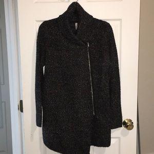 H&M zippered cardigan